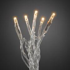 Micro LED Lichterkette 10er bernstein / transparent ein Strang innen 6350-823