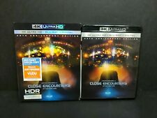 Close Encounters Of The Third Kind (4K Uhd, Blu-ray) w/ Oop Rare Slipcover Ultra