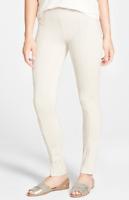 NIC+ZOE Womens Silver Cloud Perfect Ponte Pants Sz XL 6012
