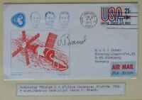 s1468) Raumfahrt Undocking Skylab 1 + 4  Beleg CC 8.2.1974 mit OU Vance Brand