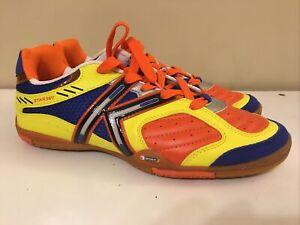 Kelme Star 360 Michelin TROPICAL COLORS  Indoor Soccer Shoes MENS SIZE 7.5 NWOT!
