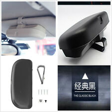 Sunglasses Holder Glasses Case Stowing Tidying Box Car Storage Pockets Black ABS