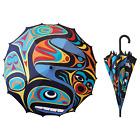 Northwest Coast Native American Orca Golf Umbrella