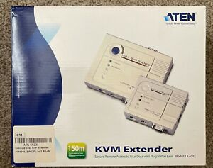 ATEN , KVM EXTENDER REMOTE UNIT , CE-220L , (4)