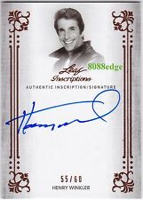"2015 POP CENTURY ON CARD AUTO: HENRY WINKLER #55/60 AUTOGRAPH""HAPPY DAYS-FONZIE"""