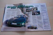 Sport Auto 4320) Chevrolet Corvette C5 Cabrio 5.7 V8 mit 344PS im TEST auf 2 Sei