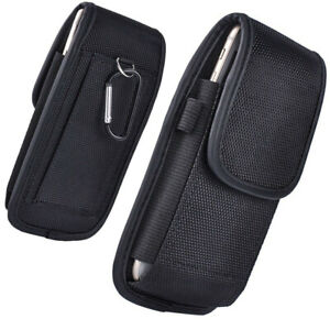Universal Belt Hook Pouch Bag Nylon Case for All Mobile SmartPhone Cover Holster