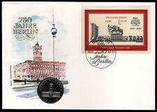 DDR Numisbrief 3 (1987), 750 Jahre Berlin-3.Ausgabe