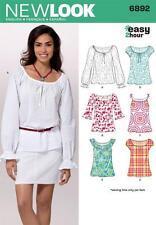 Nuevo aspecto patrón de costura se pierde' easy 2 hour Top Tops Talla 6 - 16 6892