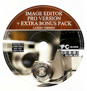 Image Photo Editor Painter illustrator Resizer Red Eye Corrector Watermark PC MA
