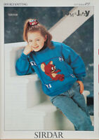 "child /& adult size Quacker Duck  Jumper from /""Tom /& Jerry/""  Knitting Pattern"