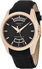 Tissot Men's Couturier Black Dial Powermatic 80 Swiss Watch T0354073605101