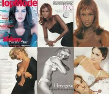 Top Model Naomi Campbell ,Monica Bellucci,Iman,Eva Herzogiva,Ines Rivero,Shiraz