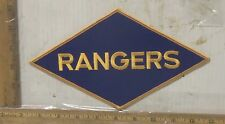 US Army Rangers Embroidered Back Patch