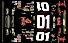 #01 Danny O'Quinn 2013 Chevrolet Impala 1/64th Ho Scale Waterslide Decals