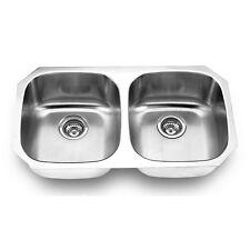 """9"""" Deep 16 Gauge, Undermount Stainless Steel Kitchen Sink Suneli SM502-16G"""