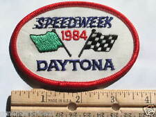 Daytona Speedway 1984 Racing Patch (#399) *