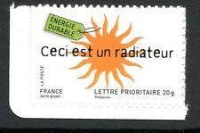STAMP / TIMBRE FRANCE  N 4210 ** ENVIRONNEMENT CECI EST UN RADIATEUR AUTOADHESIF
