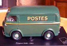 CAMION PEUGEOT D4B DE 1961 PTT LA POSTE NEUF 1/43 NOREV EDITION ATLAS TOLE VERT