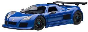 AUT71303 - Voiture de sport - Gumpert Apollo S de couleur Bleue -  -
