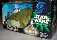 "Star Wars POTF 32"" L Dewback & 12"" Sandtrooper Action Figure Hasbro 2002"
