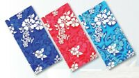 Hibiscus Towels Red/Blue/Navy Hibiscus Beach Towel 30 x 60 inch - Brand New