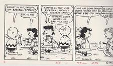 Originalzeichnung Parodie Peanuts Charlie Brown deutsche MAD von Astalos Ivica