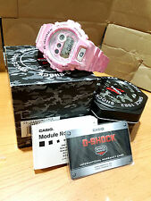 Vintage G-Shock Custom Valentine Love Pink Fluorescent Camouflage Grow UV Light