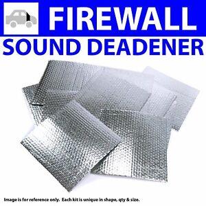 Heat & Sound Deadener Big Rig Semis Firewall Kit 9432Cm2 muscle cars