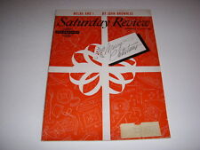 SATURDAY REVIEW Magazine December 25, 1954, MINORITIES AND THE AMERICAN PROMISE!