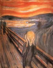 THE SCREAM, PAINTING BY EDVARD MUNCH, NORWEGIAN, SYMBOLISM, ART, MAGNET