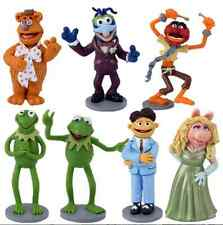 7PCS DISNEY THE MUPPETS ACTION FIGURES KIDS FIGURINES DOLL TOY CAKE TOPPER DECOR