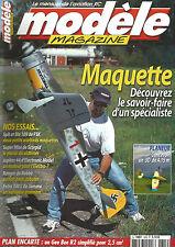 MODELE MAG N°629 PLAN : GEE BEE R2 / SPIT ET ME 109 / SUPER 44 / RANGER / EXTRA
