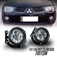 ESUZE Clear Len Fog Light Spotlight Lamp Mitsubishi Triton L200 05 06 07 08