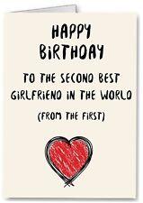 Best Girlfriend Birthday Card - Gay Lesbian Partner LGBT - Funny Joke One I Love