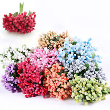 Bead Core Artificial Flower Accessories Berry With Leaf Lots Wedding Party Home