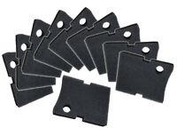 Replacement Hydor 150  Black Coarse Foam Filter Pads - 10 Pack