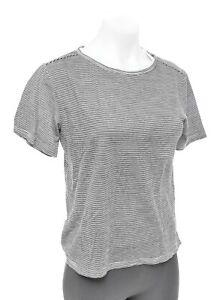 Rapha Classic Tee Women's SMALL Short Sleeve Striped 100% Merino Casual T-Shirt