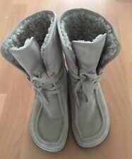 Clarks Warm ladies womens leather Suede boots size UK 5D