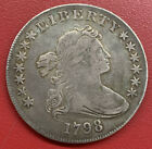 1798 Draped Bust Dollar Highly Demanded Early Silver $