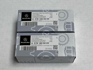 2 x Mercedes Benz Genuine C CL CLA E CLS ML GLE S SL SLK Engine Oil Filter Kit