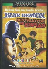 Colección Mexico en Pantalla DVD Blue Demon Destructor de Espias