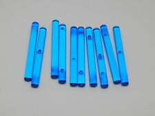 Lego Lot Of 10 Trans Dark Blue Light Sabers Star Wars Weapons