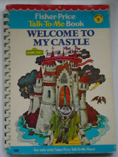 Fisher Price Talk To Me Book #9, Welcome To My Castle, Sesame Street, 1978