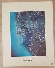 NASA Vintage Space Graphic 16x20 Original Poster Tampa Bay Florida