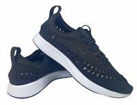 Nike Dualtone Racer Woven Mens Running Shoes Black White Size 9 AO0678-004 New