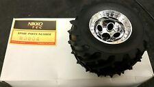 Nikko Super Dictator DE RECHANGE Pair des roues et pneus. Neuf et emballé