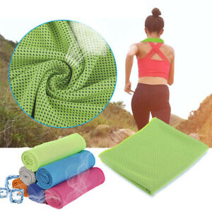 Microfiber Sport Towel Rapid Cooling Ice Face Towel Quick Dry Beach Towel Summer