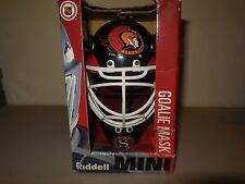 ottawa senators mini goalie mask by riddell