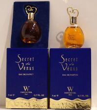 flacon miniature parfum  SECRET DE VENUS de WEIL 5ml verre collection boite